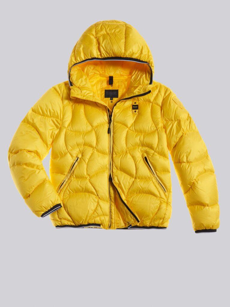 Piumino Blauer uomo collezione inverno 2021 colore giallo modello Benjamin 768x1024 - Piumini Uomo BLAUER Inverno 2020 2021