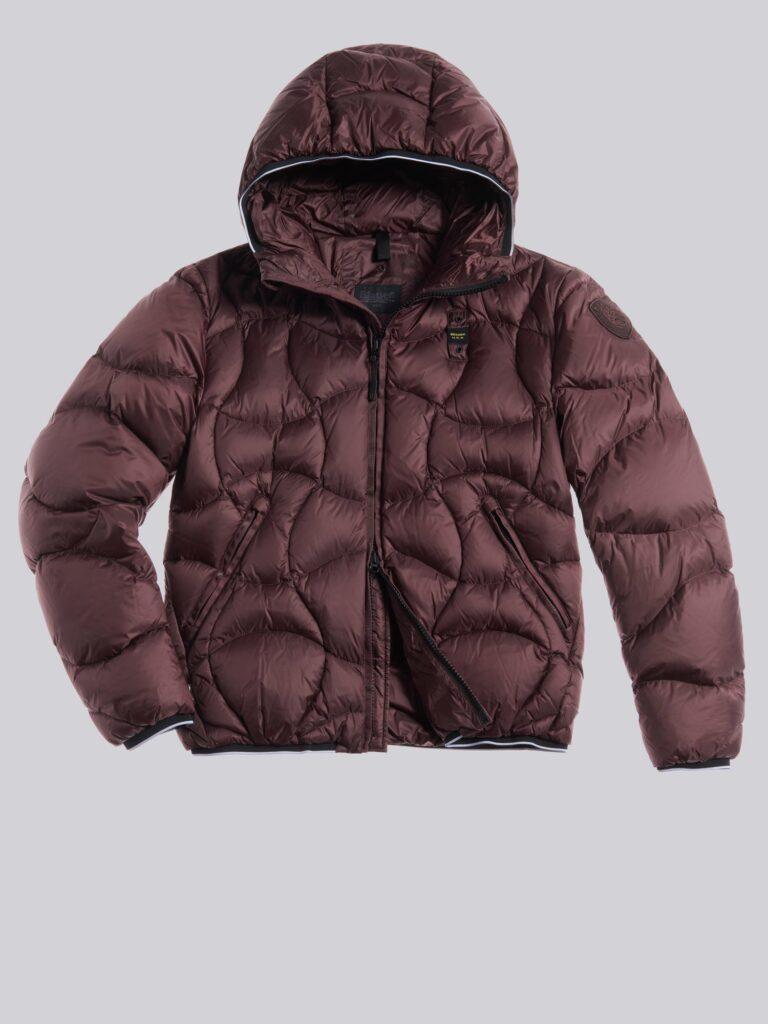 Piumino Blauer uomo collezione inverno 2021 colore marrone modello Benjamin 768x1024 - Piumini Uomo BLAUER Inverno 2020 2021