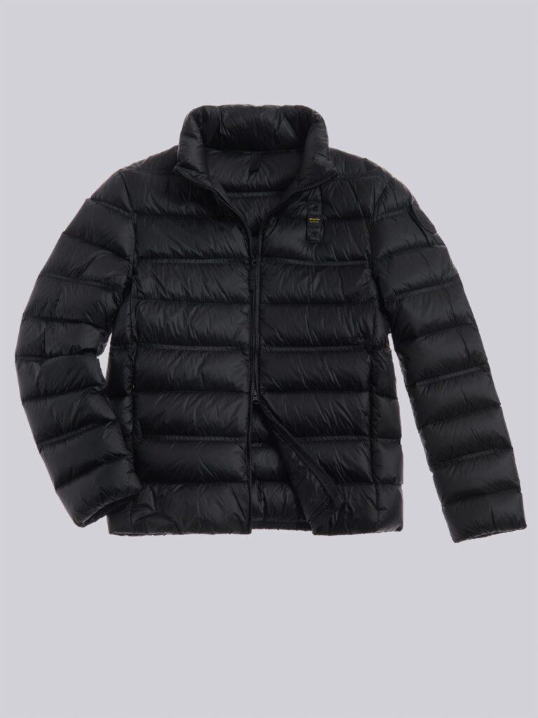 Piumino Blauer uomo collezione inverno 2021 colore nero modello Basico Bruce 768x1024 - Piumini Uomo BLAUER Inverno 2020 2021