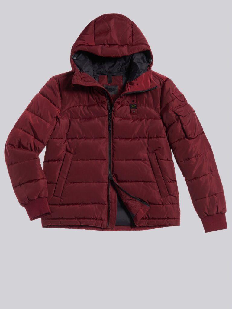 Piumino invernale 2021 uomo Baluer rosso bordeaux modello Recycled 768x1024 - Piumini Uomo BLAUER Inverno 2020 2021