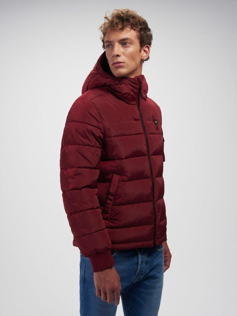 Piumino invernale uomo Baluer rosso bordeaux modello Recycled 768x1024 - Piumini Uomo BLAUER Inverno 2020 2021