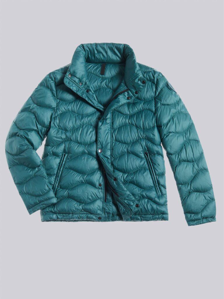 Piumino uomo Blauer modello Adam catalogo inverno 2020 2021 colore verde mare del nord 768x1024 - Piumini Uomo BLAUER Inverno 2020 2021
