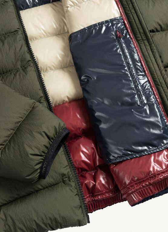 Colmar piumino invernale maschile con fodera lucida colorata - Colmar Piumini Uomo Collezione Inverno 2020 2021