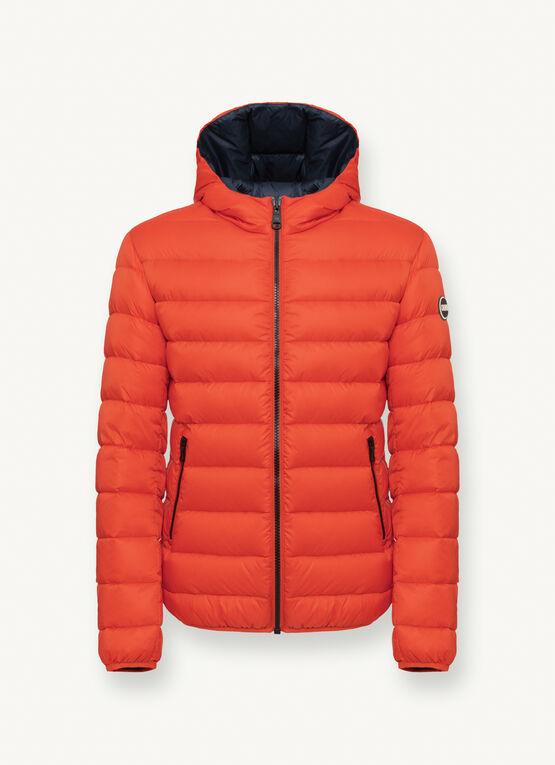 Iconico piumino uomo Colmar inverno 2020 2021 arancione - Colmar Piumini Uomo Collezione Inverno 2020 2021