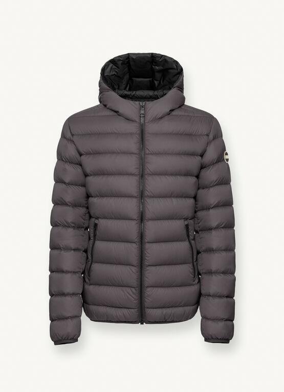 Iconico piumino uomo Colmar inverno 2020 2021 colore grigio - Colmar Piumini Uomo Collezione Inverno 2020 2021