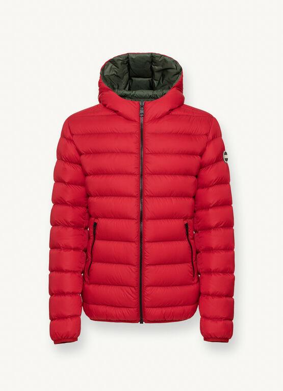 Iconico piumino uomo Colmar inverno 2020 2021 colore rosso - Colmar Piumini Uomo Collezione Inverno 2020 2021
