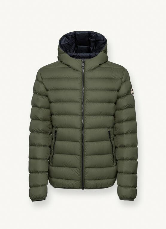 Iconico piumino uomo Colmar inverno 2020 2021 colore verde - Colmar Piumini Uomo Collezione Inverno 2020 2021