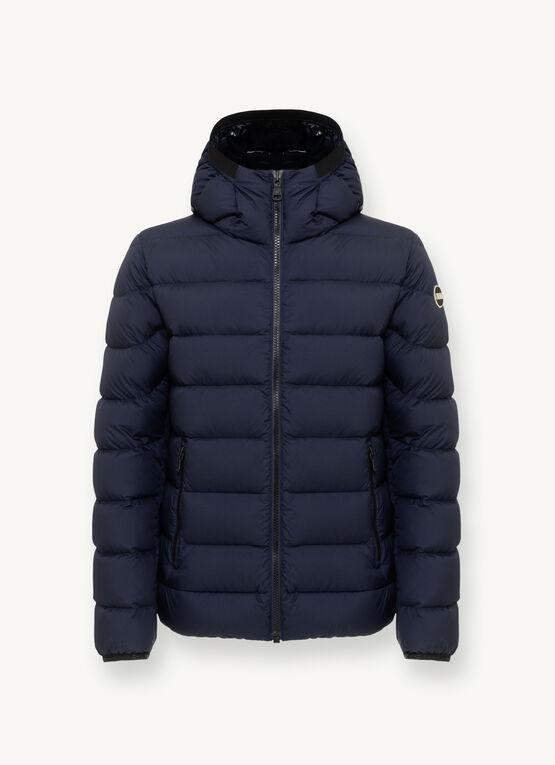 Piumino invernale Colmar uomo blu scuro collezione 2021 - Colmar Piumini Uomo Collezione Inverno 2020 2021