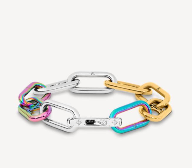 Bracciale uomo Louis Vuitton inverno 2020 2021 Signature Chain - Accessori Uomo Louis Vuitton: Collane e Bracciali a Catena
