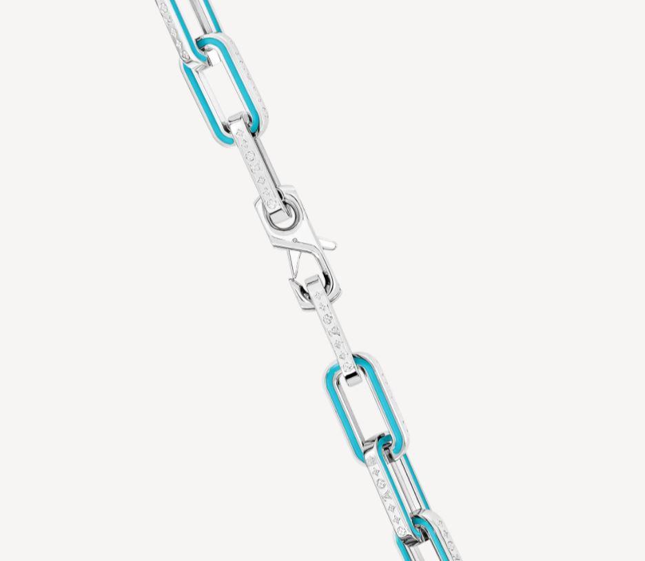 Dettaglio collana uomo Louis Vuitton - Accessori Uomo Louis Vuitton: Collane e Bracciali a Catena