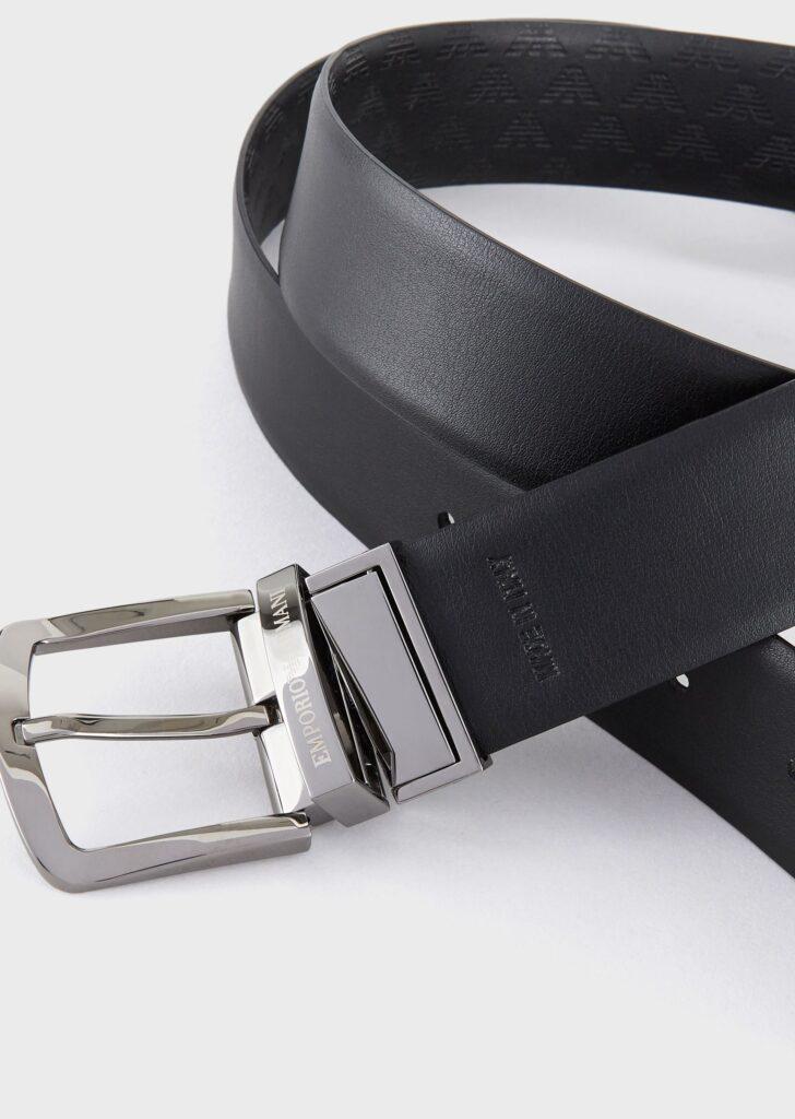 Cintura maschile reversibile Emporio Armani 728x1024 - 15 Cinture Uomo Firmate 2021
