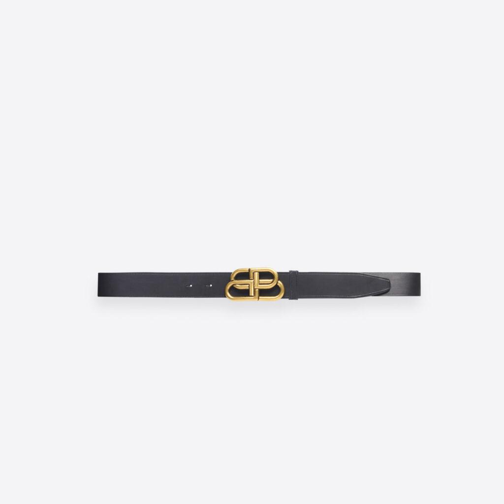 Cintura uomo Balenciaga in pelle nera 2021 1024x1024 - 15 Cinture Uomo Firmate 2021