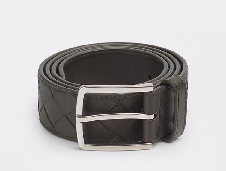 Cintura uomo Bottega Veneta in pelle intrecciata - 15 Cinture Uomo Firmate 2021