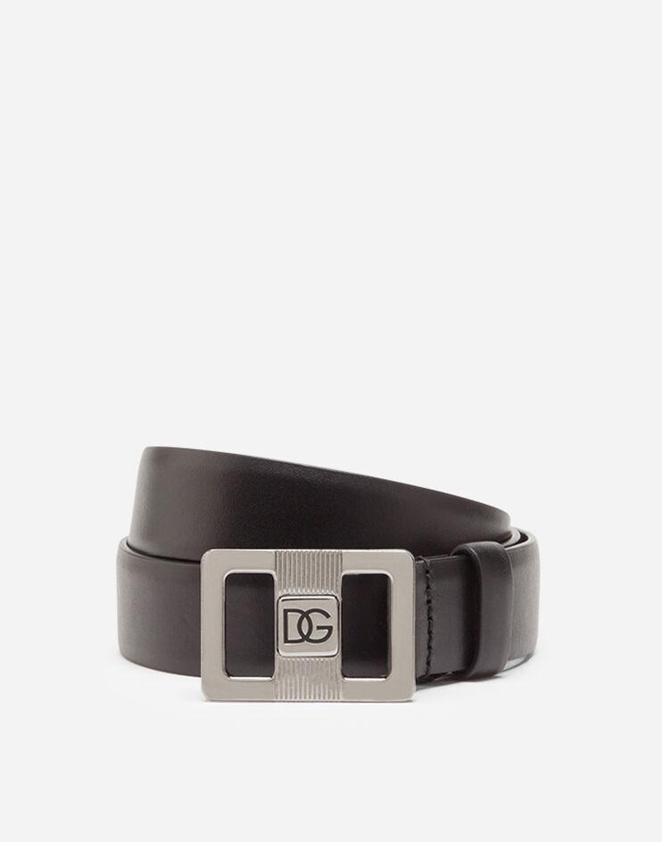 Cintura uomo Dolce Gabbana 2021 in pelle nera - 15 Cinture Uomo Firmate 2021