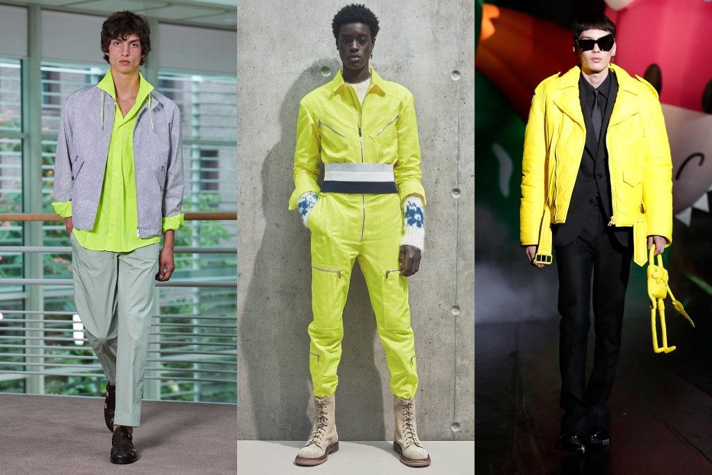 Tendenze Moda Maschile Estate 2021 Colori Neon - Moda Uomo Primavera Estate 2021