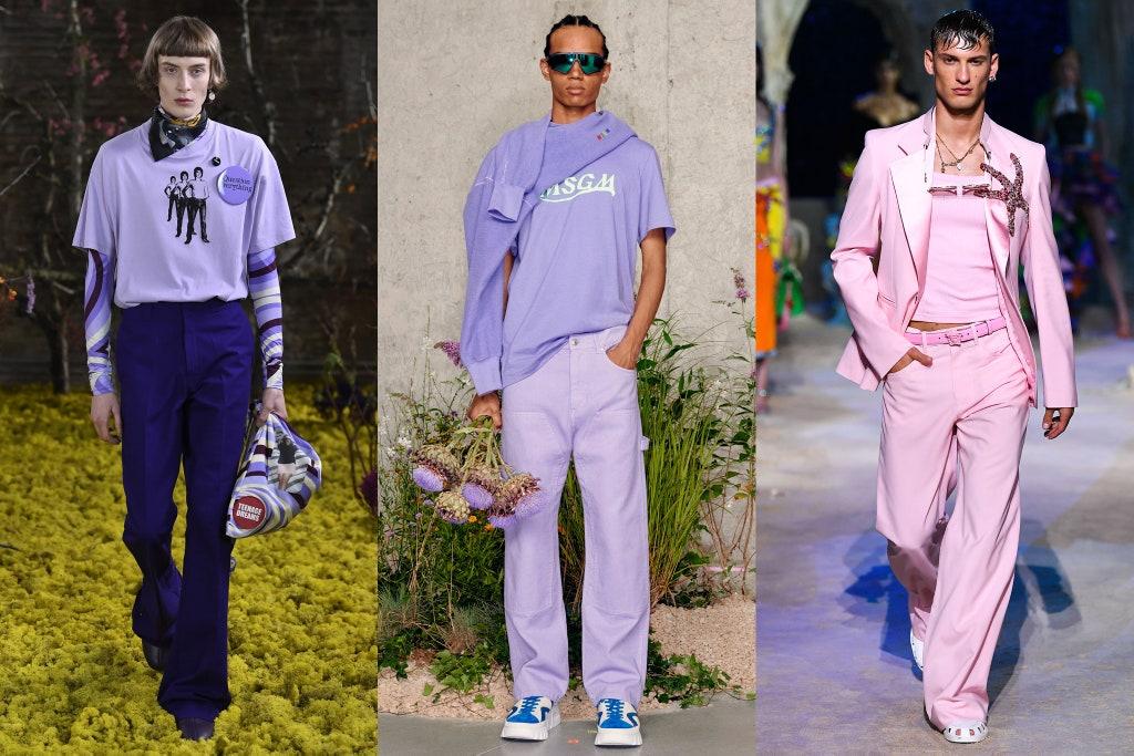 Tendenze Moda Maschile Estate 2021 Colori Pastello - Moda Uomo Primavera Estate 2021