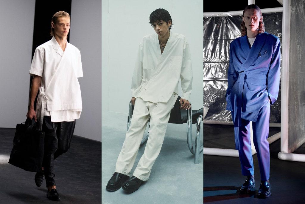 Tendenze Moda Maschile Estate 2021 Il kimono - Moda Uomo Primavera Estate 2021