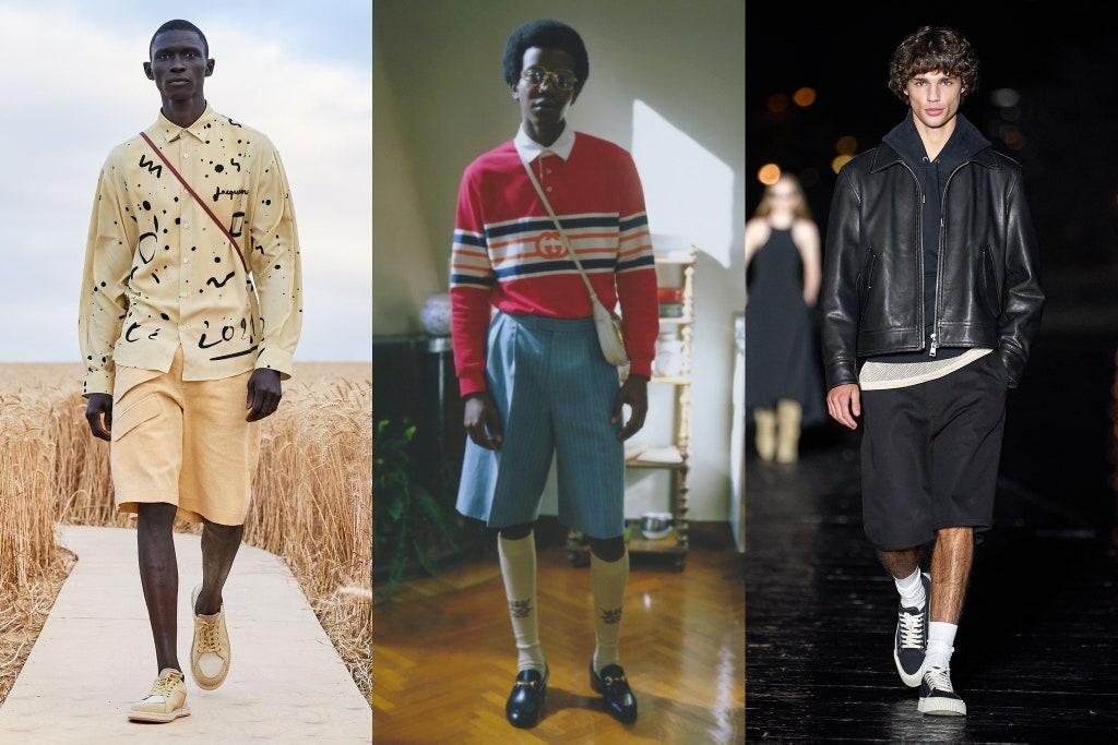 Tendenze Moda Uomo Primavera 2020 Pantaloni Bermuda - Moda Uomo Primavera Estate 2021