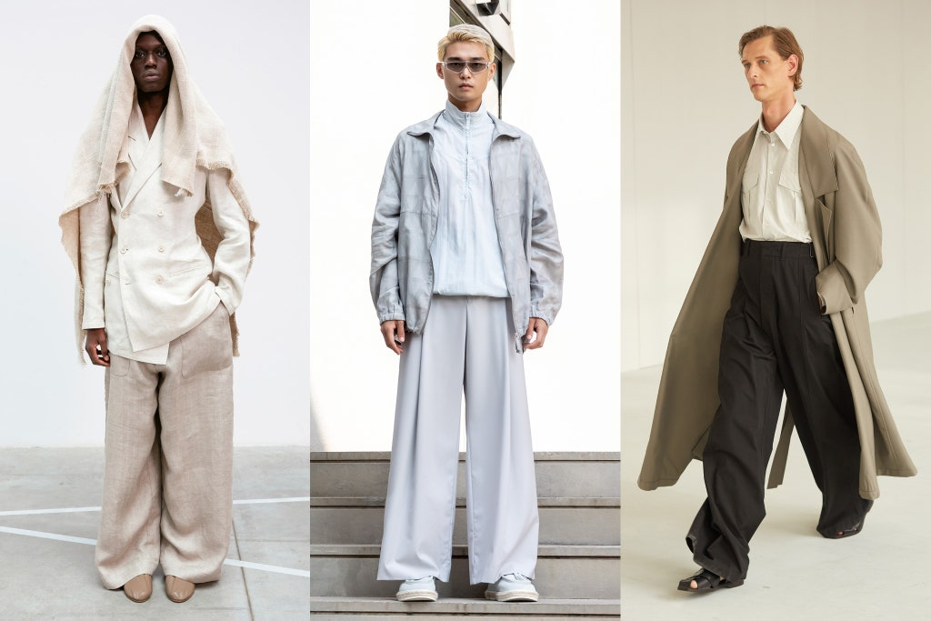 Tendenze Moda Uomo Primavera 2020 Pantaloni Extra Large - Moda Uomo Primavera Estate 2021