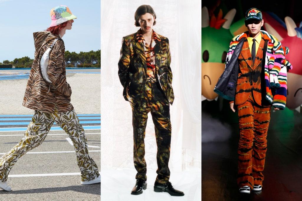 Tendenze Moda Uomo Primavera 2020 Stampe e Fantasie - Moda Uomo Primavera Estate 2021