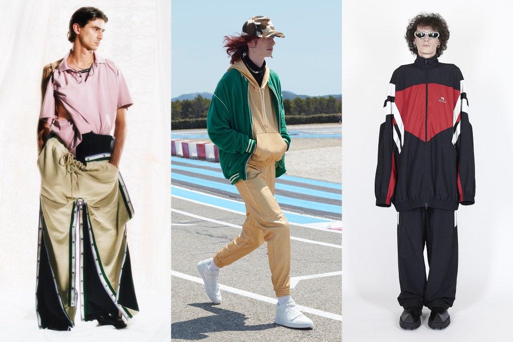 Tendenze Moda Uomo Primavera 2020 Tute da ginnastica - Moda Uomo Primavera Estate 2021