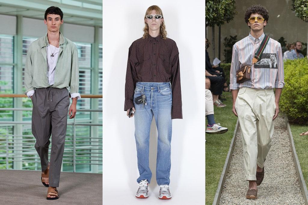 Tendenze Moda Uomo Primavera Estate 2020 Camicia infilata sotto i pantaloni - Moda Uomo Primavera Estate 2021