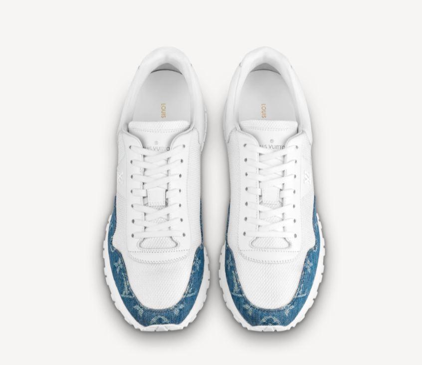 Louis Vuitton nuove scarpe estive da uomo modello Run Away 2021 - Sneakers Uomo Moda Primavera Estate 2021