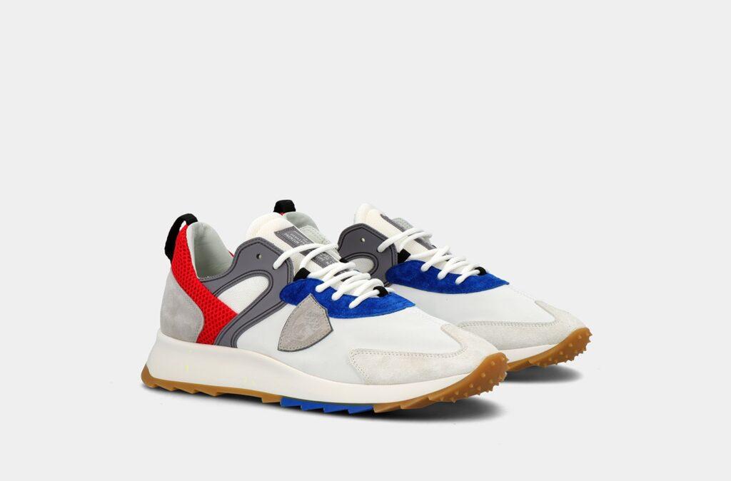 Nuove sneakers Philippe Model Royale Mondial Pop Blanc Bluette collezione primavera estate 2021 1024x674 - Sneakers Uomo Moda Primavera Estate 2021