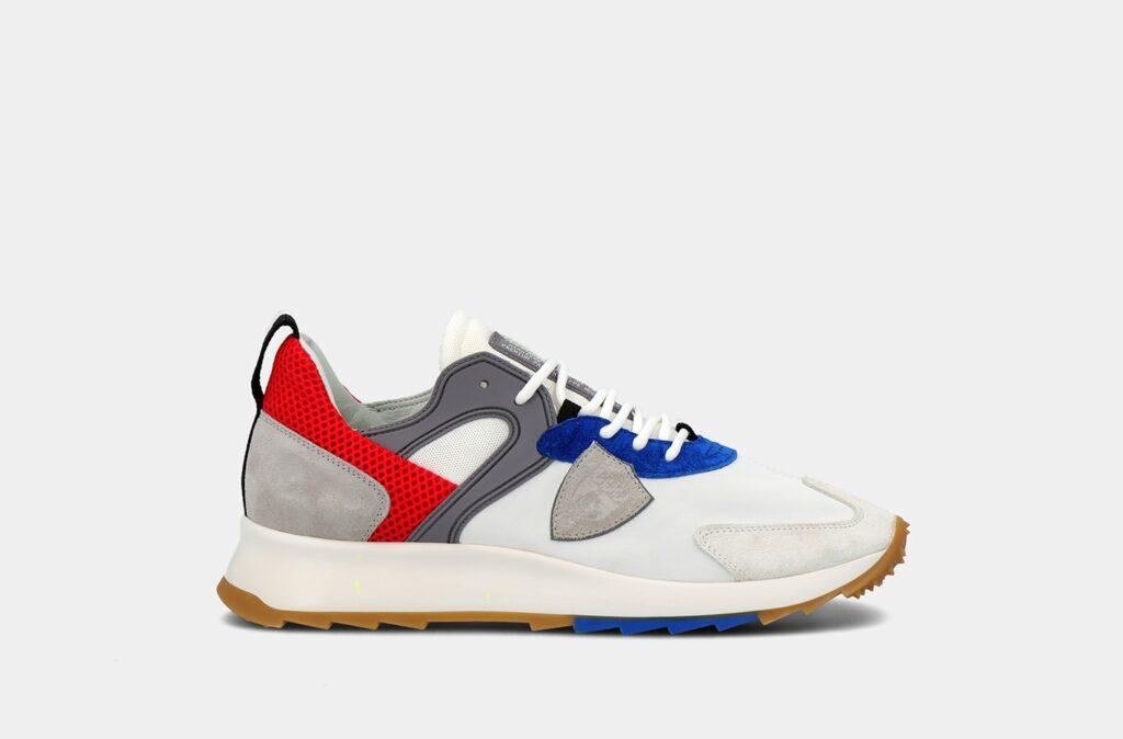 Nuove sneakers Royale Mondial Pop Blanc Bluette collezione primavera estate 2021 Philippe Model 1024x674 - Sneakers Uomo Moda Primavera Estate 2021