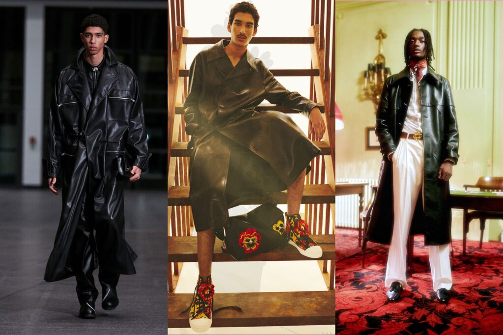 Abbigliamento in pelle Moda Uomo Inverno 2021 2022 1024x682 - Tendenze Moda Abbigliamento Uomo Inverno 2021 2022