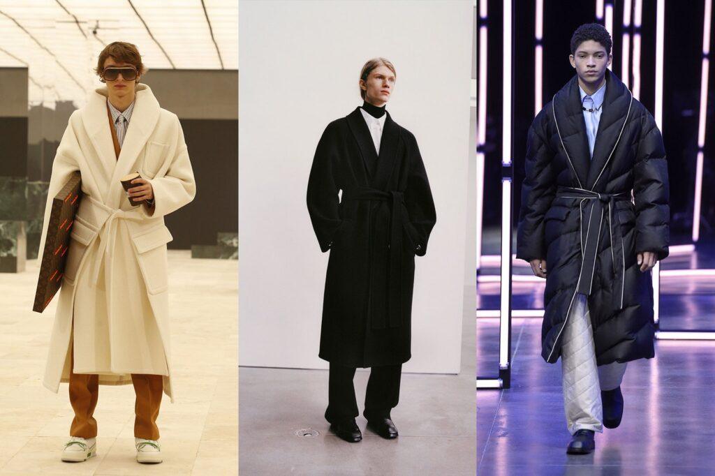 Cappotto a vestaglia maschile Moda Invernale 2022 1024x682 - Tendenze Moda Abbigliamento Uomo Inverno 2021 2022