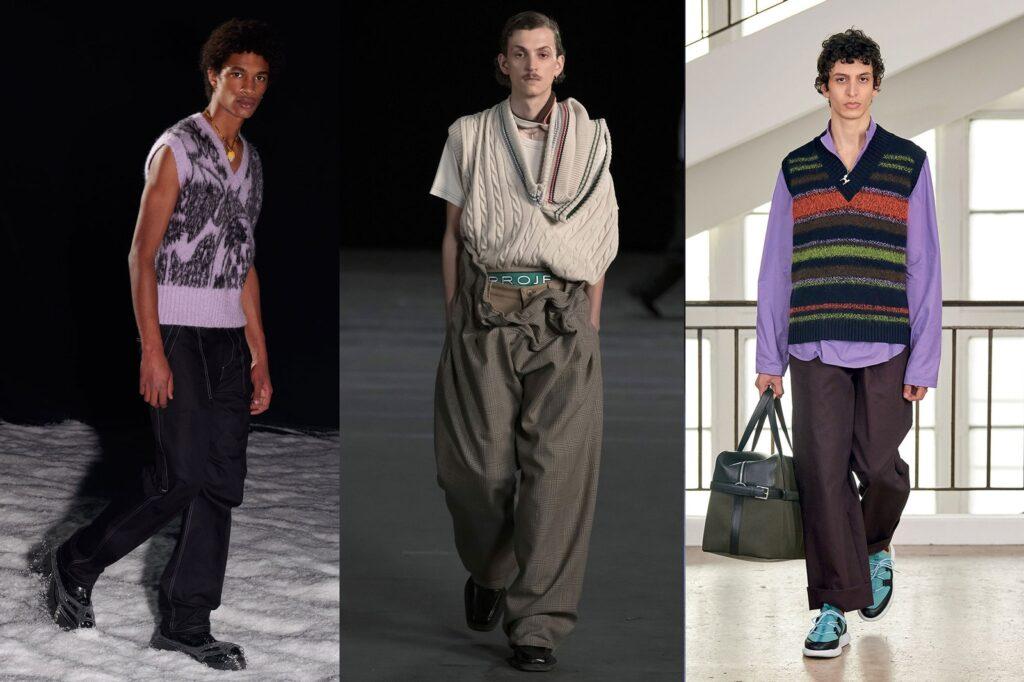Il ritorno del gilet smanicato da uomo Moda Inverno 2022 1024x682 - Tendenze Moda Abbigliamento Uomo Inverno 2021 2022