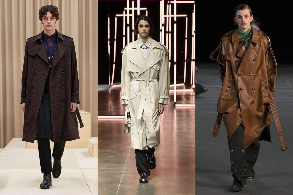Trench Maschile 1 1024x682 - Tendenze Moda Abbigliamento Uomo Inverno 2021 2022